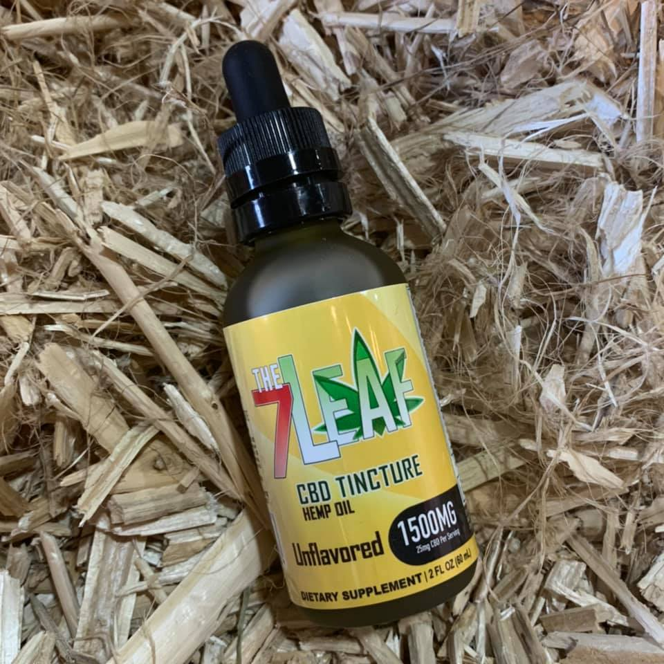 Natural Tincture 1500mg Hemp