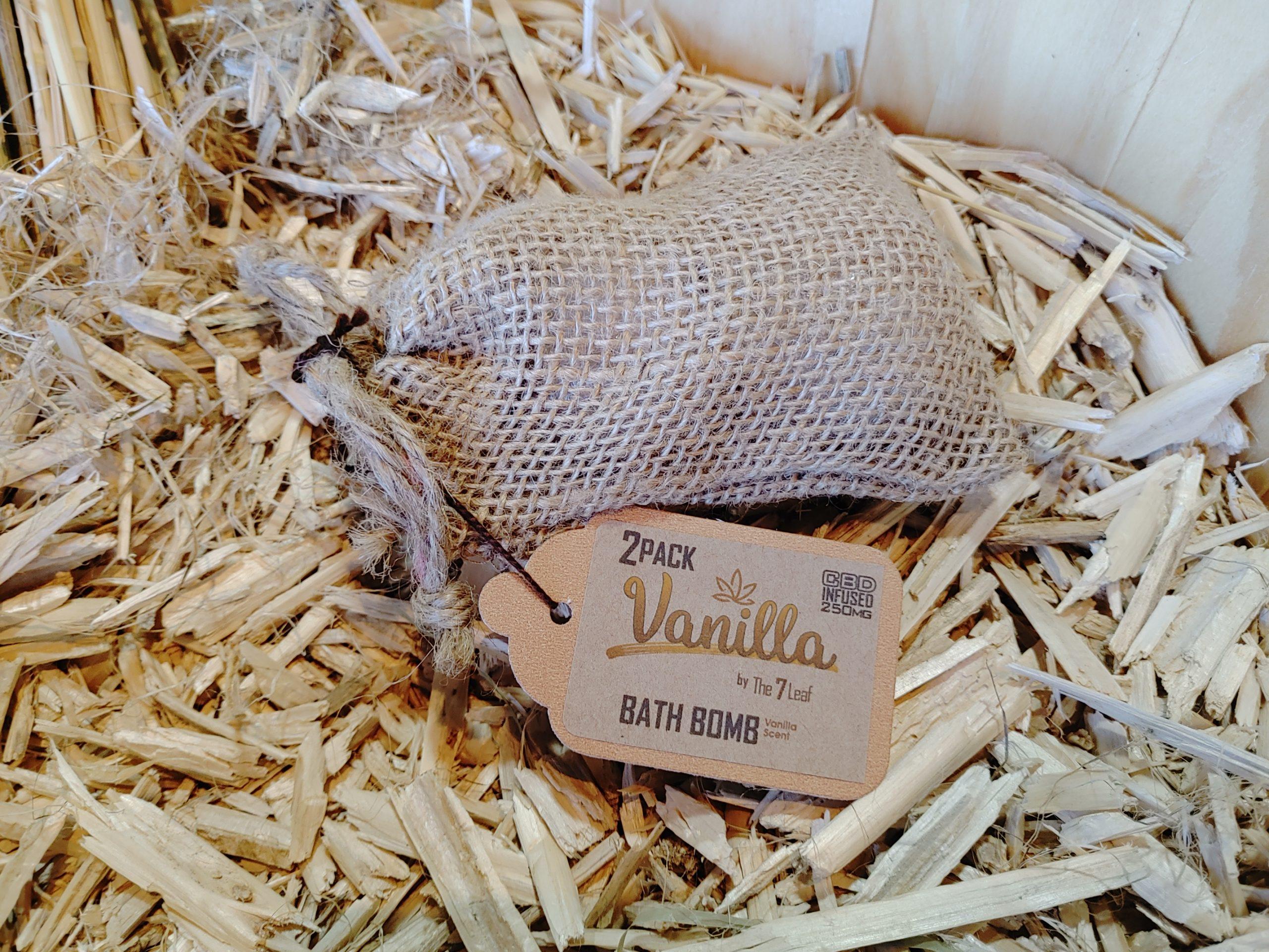 Vanilla Bath Bomb