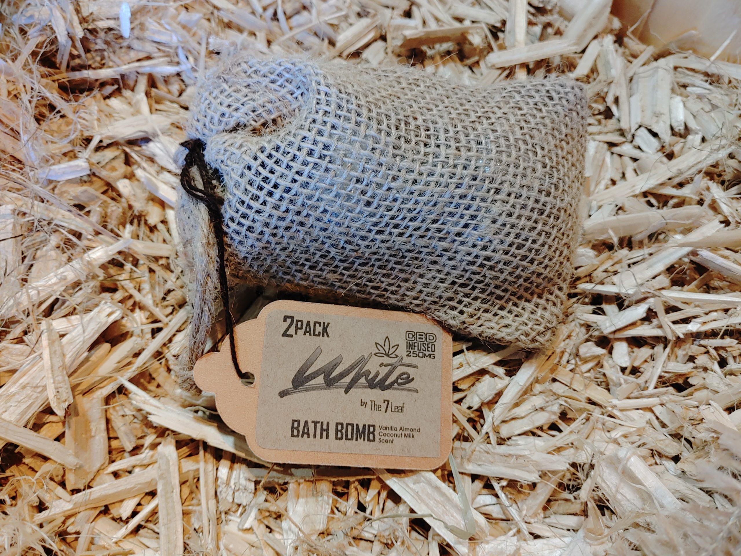 White Bath Bomb