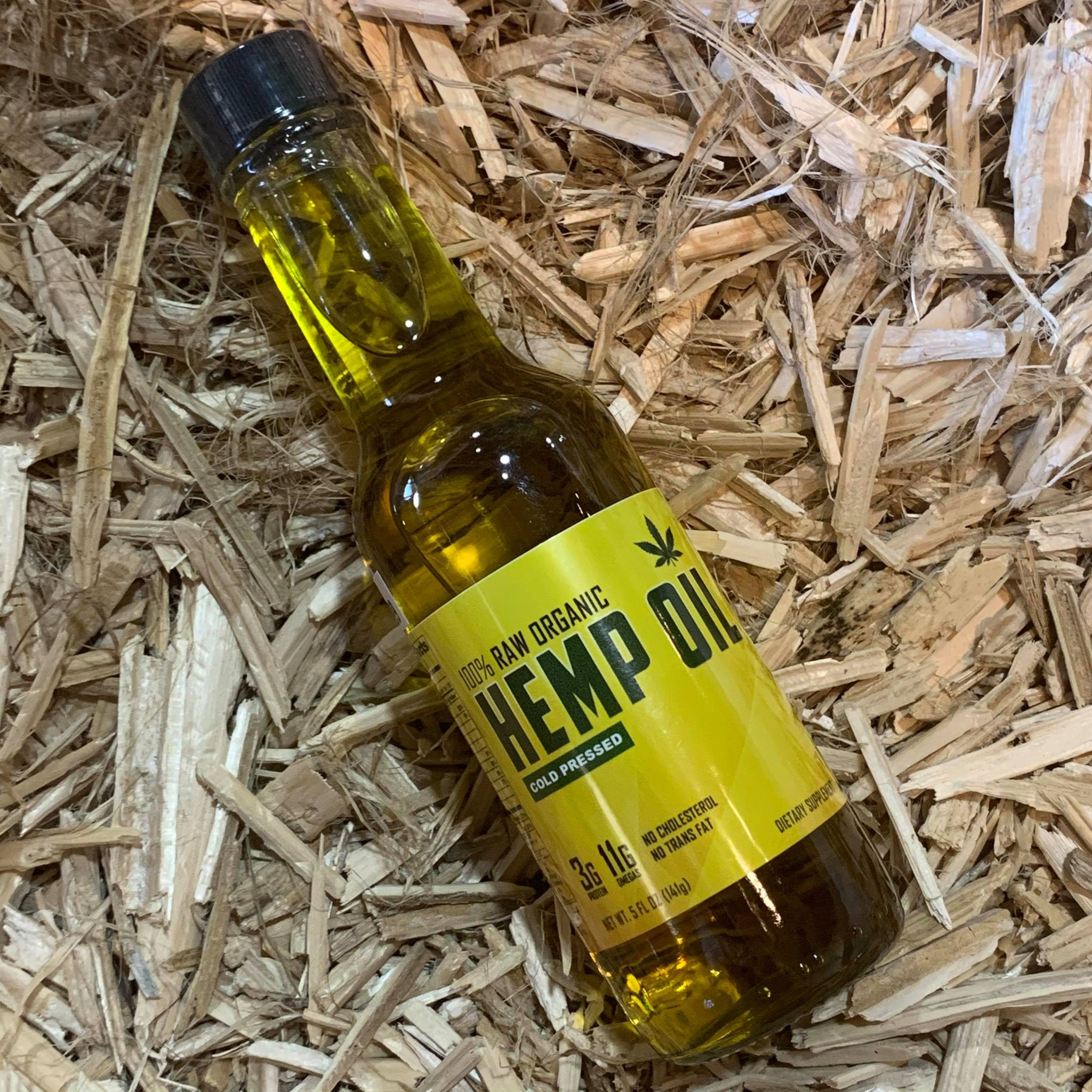 Raw Hemp Oil CBD Free
