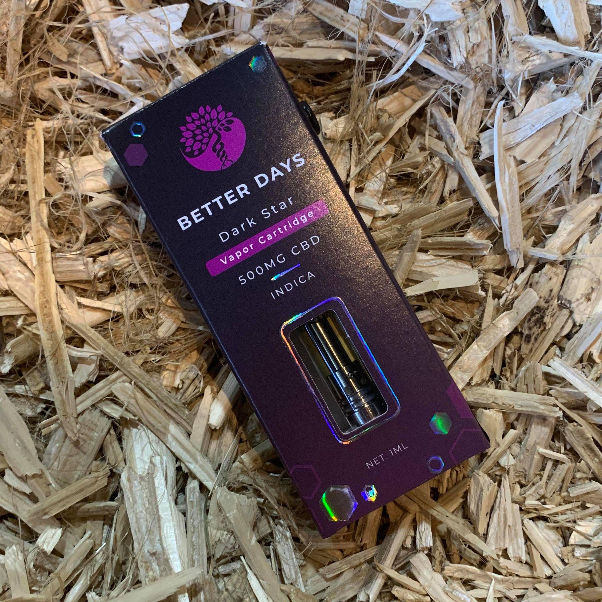 Creating Better Days 500mg CBD Cartridge