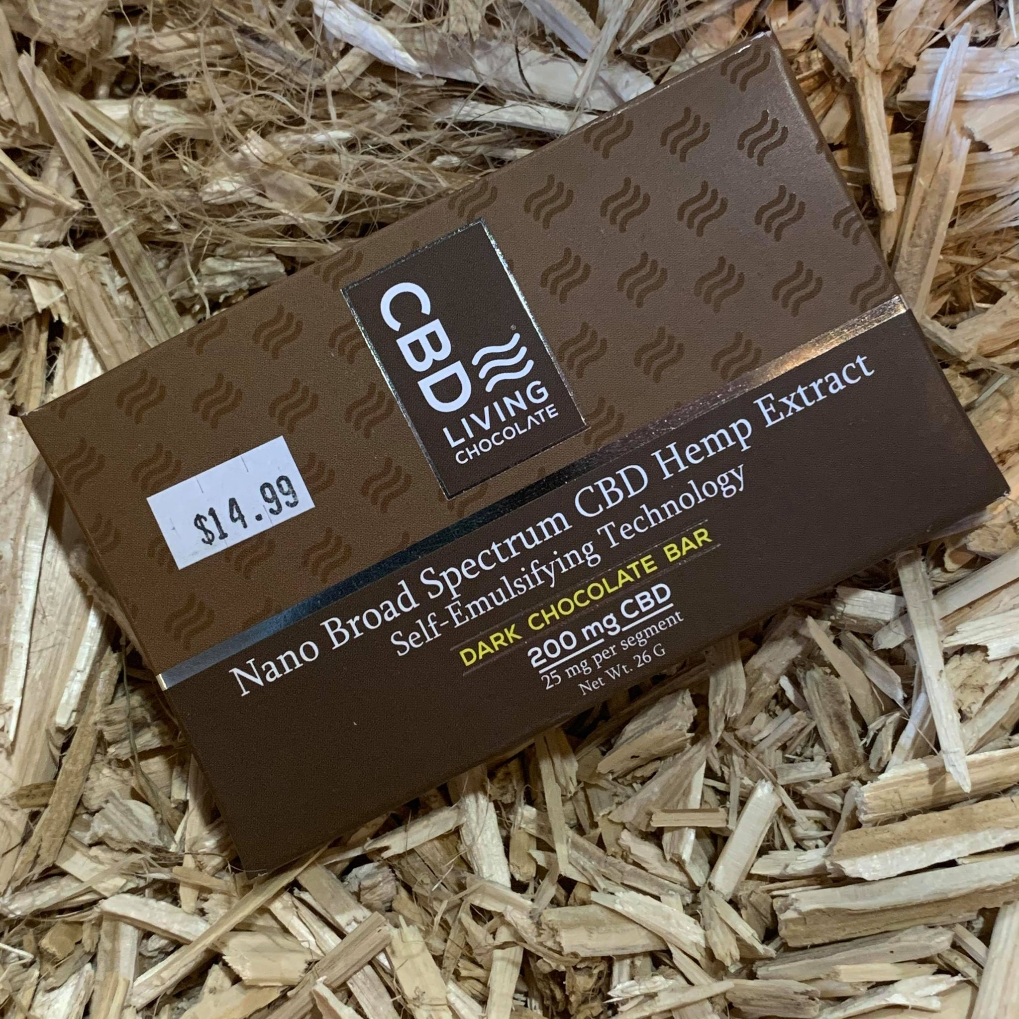 CBD Living Chocolate Bar 200mg