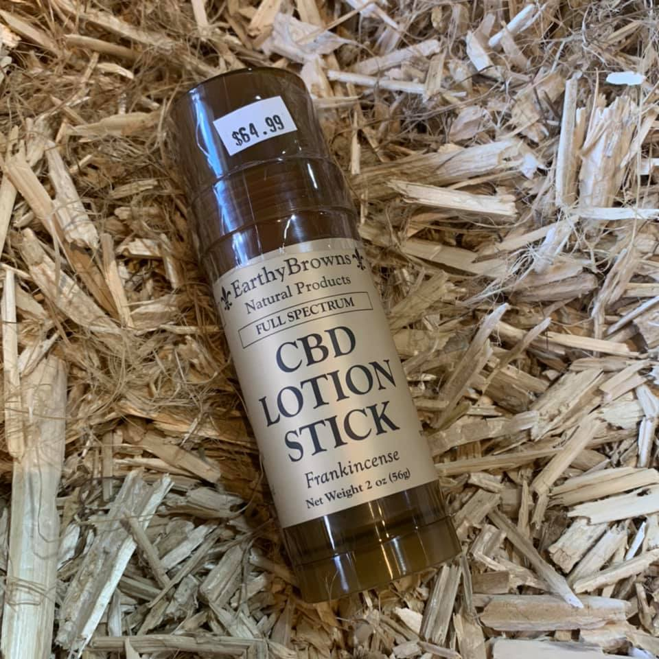 Earthy Browns 1000mg CBD Lotion Stick