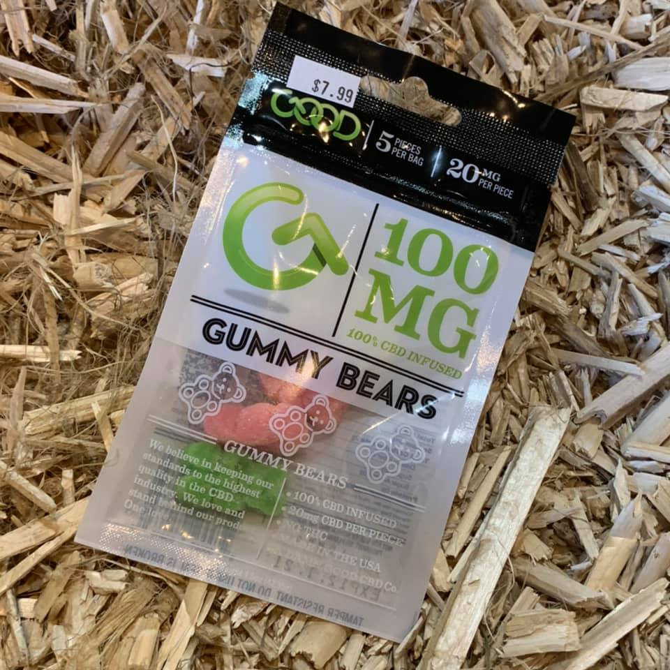 100mg Gummy Bears