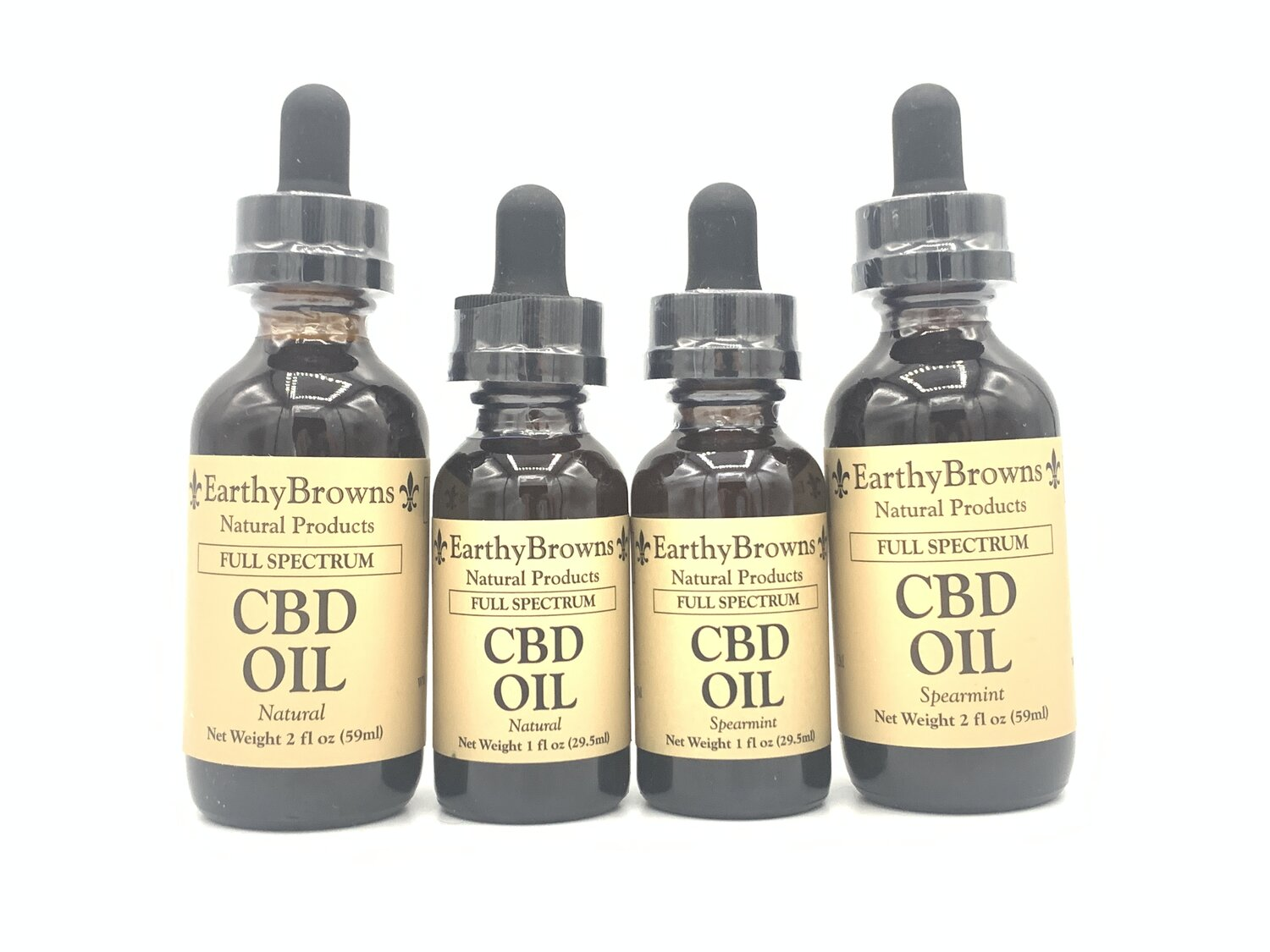 Earthy Browns CBD Oil