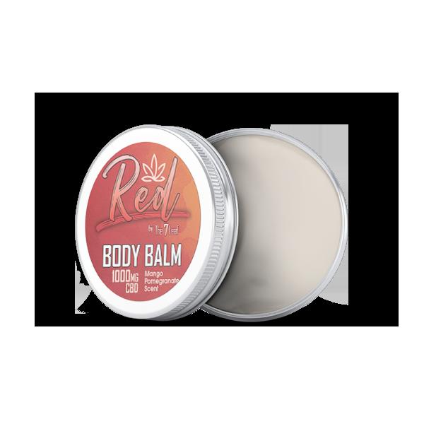 Red Body Balm 1000mg CBD